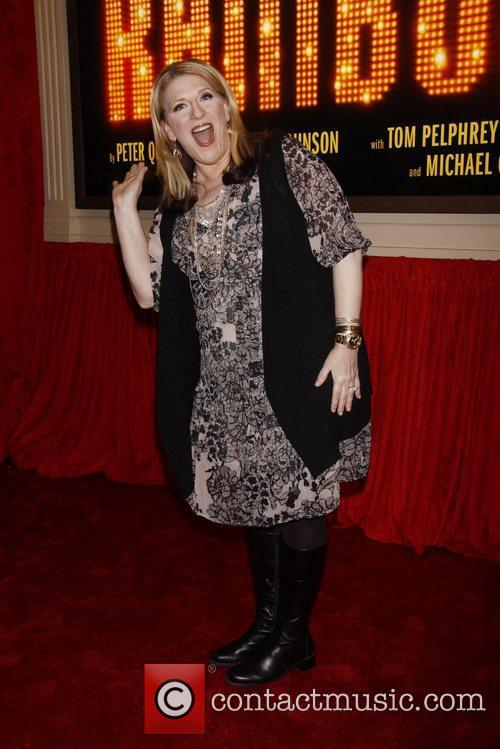 Broadway opening night of 'End Of The Rainbow'...