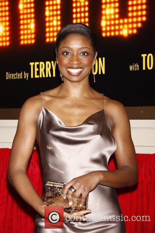 Montego Glover Broadway opening night of 'End Of...