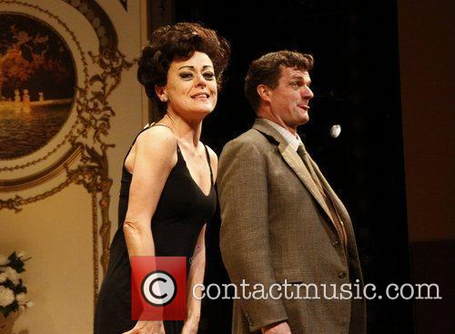 Tracie Bennett and Michael Cumpsty Broadway opening night...