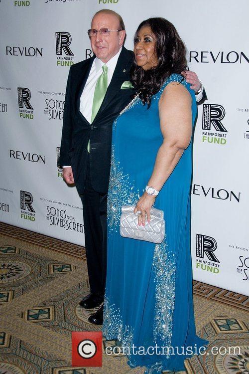 Clive Davis and Aretha Franklin 1