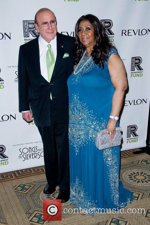 Clive Davis and Aretha Franklin 2