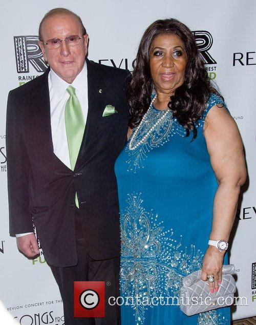 Clive Davis and Aretha Franklin 3
