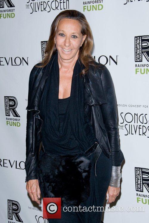 Donna Karan The 2012 Concert For The Rainforest...