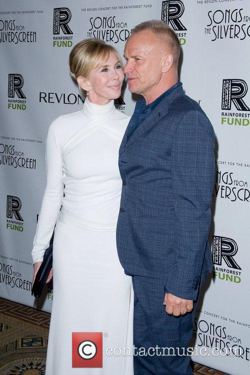 Sting and Trudie Styler 2