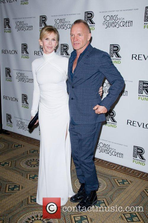Sting and Trudie Styler 5