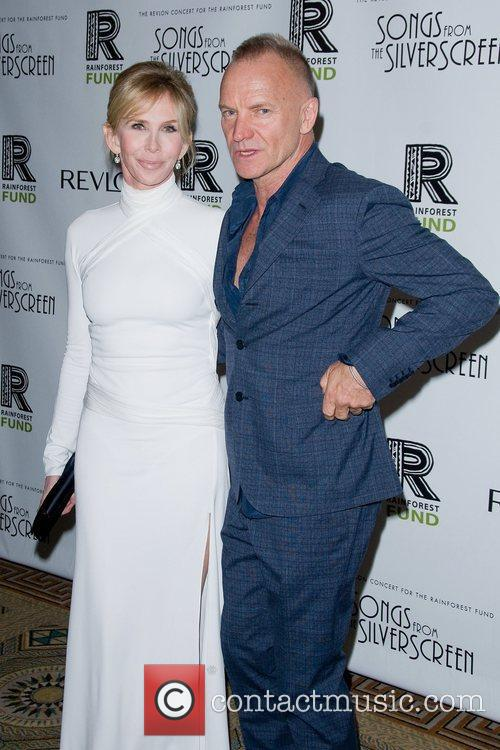 Sting and Trudie Styler 6