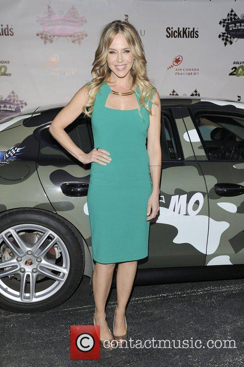 Julie Benz  Rally For Kids 'The Qualifiers'...