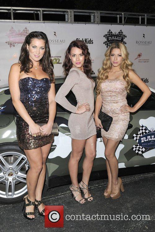 Rachelle Wilde, Rachelle Leah and Priscilla Caripan