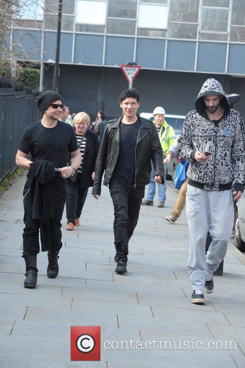 the german band rammstein arrive at their 5803272