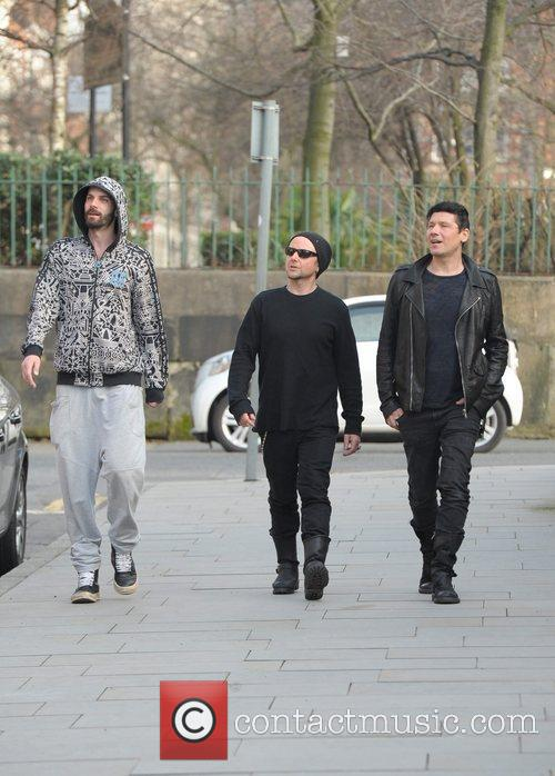 the german band rammstein arrive at their 5803275