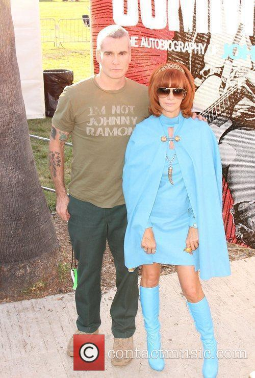Henry Rollins and Linda Ramone 8th annual Johnny...