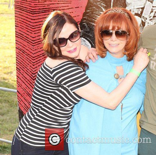 Rose McGowan and Linda Ramone 8th annual Johnny...