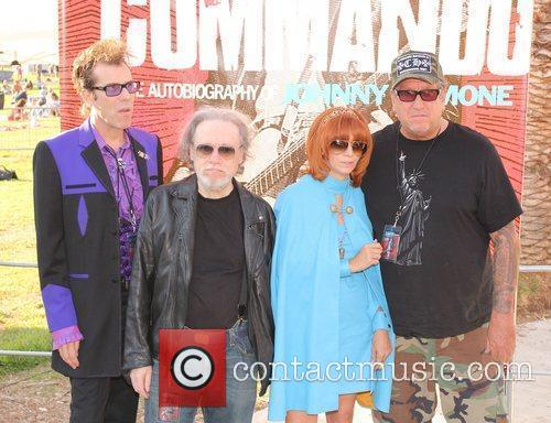 Slim Jim Phantom, Tommy Ramone, Linda Ramone and...