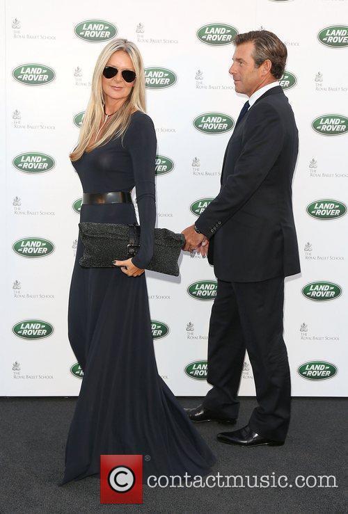 Amanda Wakeley and husband The Range Rover global...
