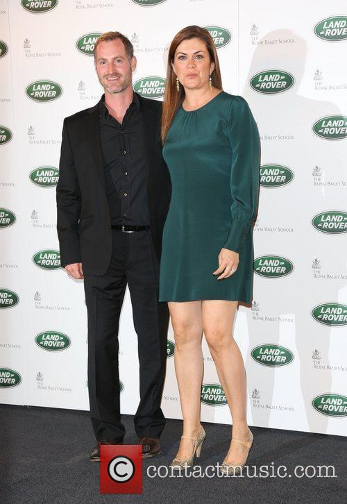 Amanda Lamb and husband The Range Rover global...