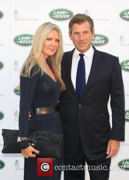 Amanda Wakely and husband The Range Rover global...