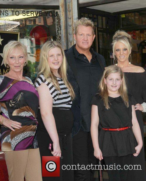 Gary Levox, Tara and Star On The Hollywood Walk Of Fame 7