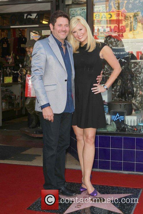 Jay Demarcus, Allison Alderson and Star On The Hollywood Walk Of Fame 4