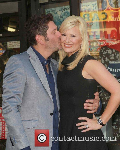 Jay Demarcus, Allison Alderson and Star On The Hollywood Walk Of Fame 3