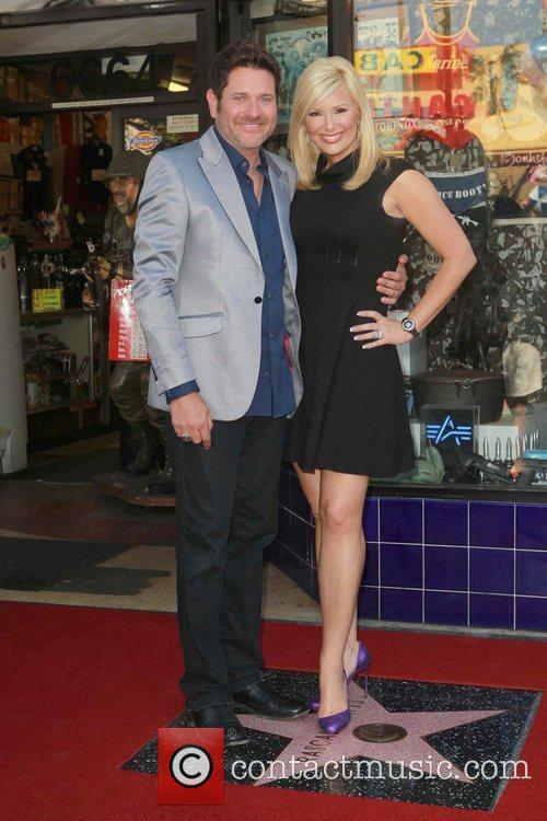 Jay Demarcus, Allison Alderson and Star On The Hollywood Walk Of Fame 6