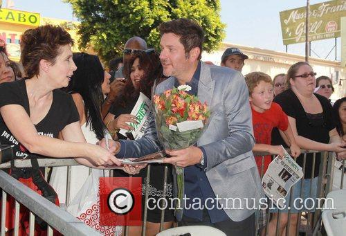 Jay Demarcus and Star On The Hollywood Walk Of Fame 5