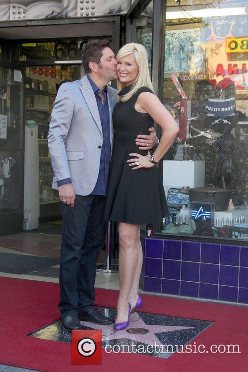 Jay Demarcus, Allison Alderson and Star On The Hollywood Walk Of Fame 2