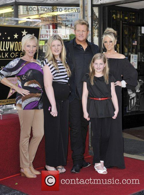Gary LeVox and Star On The Hollywood Walk Of Fame 1