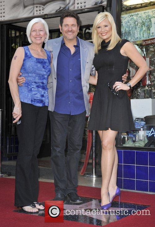 Jay Demarcus and Star On The Hollywood Walk Of Fame 7