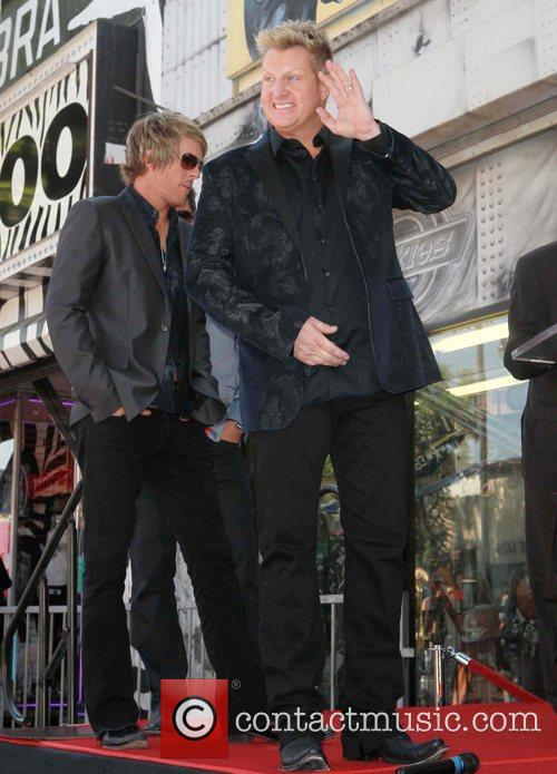 Gary LeVox and Star On The Hollywood Walk Of Fame 3