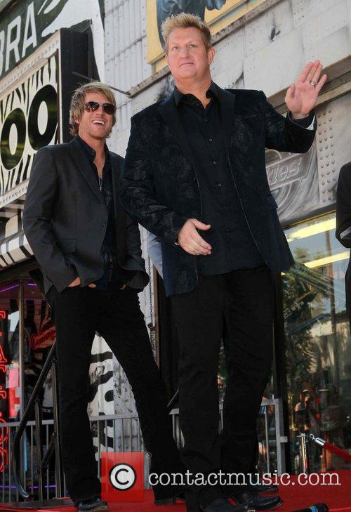 Gary LeVox and Star On The Hollywood Walk Of Fame 5