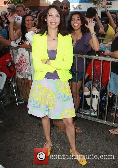 Illeana Douglas and Star On The Hollywood Walk Of Fame 1