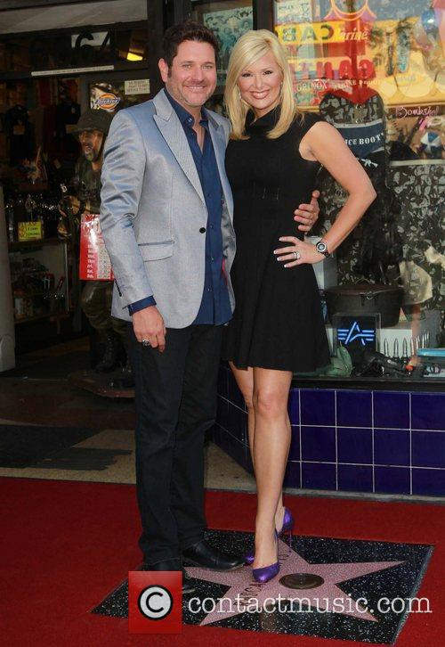 Jay Demarcus, Allison Alderson and Star On The Hollywood Walk Of Fame 11
