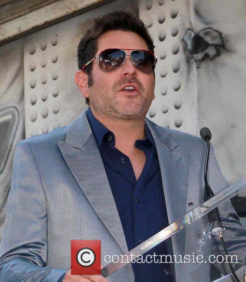 Jay DeMarcus and Star On The Hollywood Walk Of Fame 1