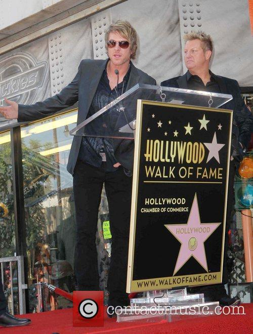 Rascal Flatts honored with star on the Hollywood...