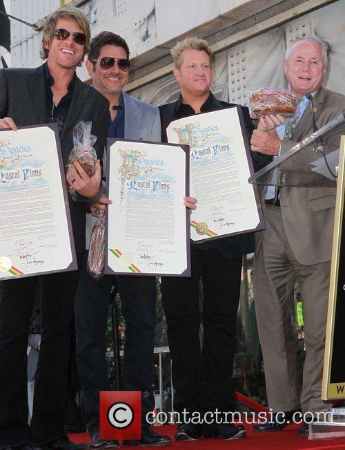 Rascal Flatts, Joe Don Rooney, Jay Demarcus and Gary Levox 7