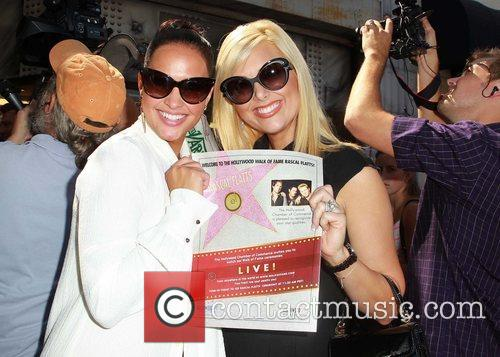 Tiffany Fallon, Allison Anderson and Star On The Hollywood Walk Of Fame 1