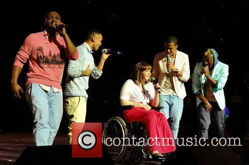 JLS & Sophie Washington (16 year old from...