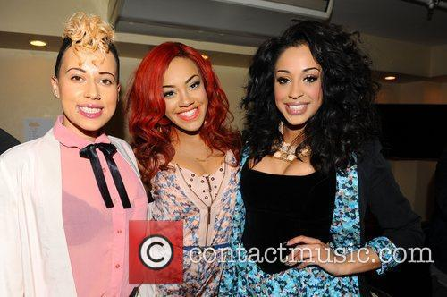 Stooshe  at the Rays of Sunshine Children's...