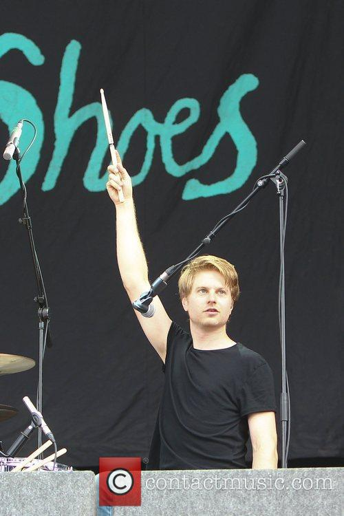 Blood Red Shoes, Leeds & Reading Festival, Reading Festival