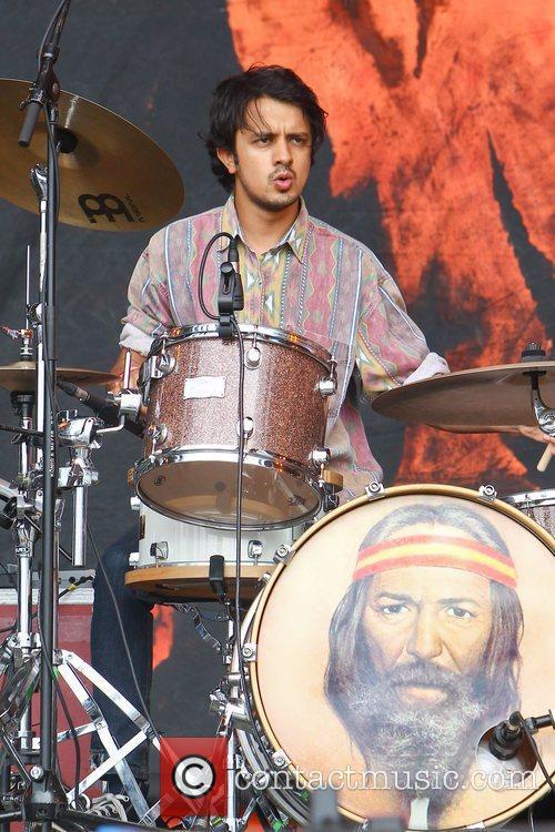 Kapil Trivedi of Mystery Jets Reading Festival -...