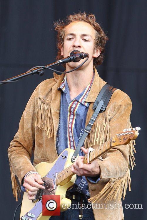 William Rees Mystery Jets Reading Festival - Day...
