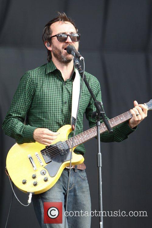 James Mercer of the The Shins Reading Festival...