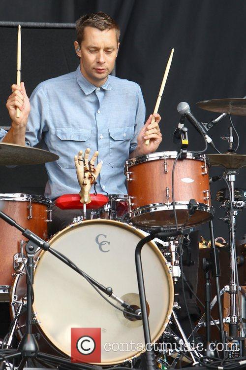 Joe Plummer of The Shins Reading Festival -...
