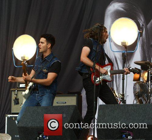 Justin Young and Freddie Cowan, The Vaccines Reading...