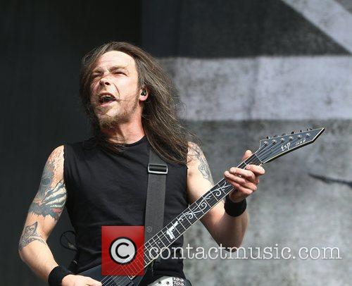 Michael Paget, Bullet for my Valentine Reading Festival...