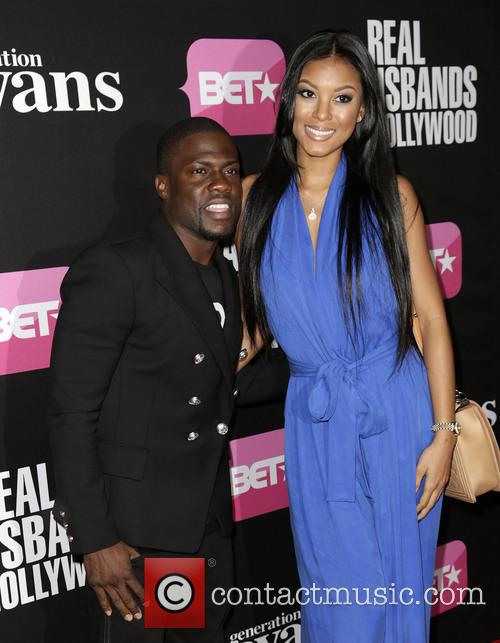 Kevin Hart and Torrei Hart 2