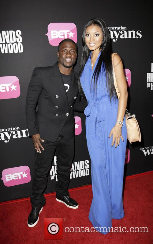 Kevin Hart and Torrei Hart 1
