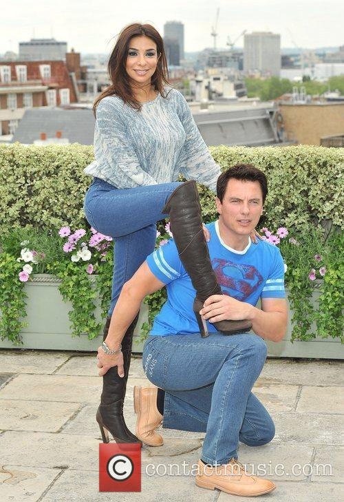 Shobna Gulati and John Barrowman 2