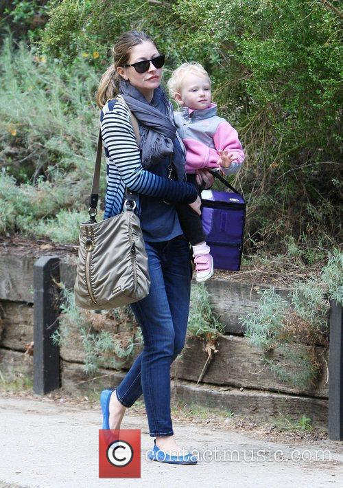 Rebecca Gayheart and her daughter Billie Beatrice Dane...