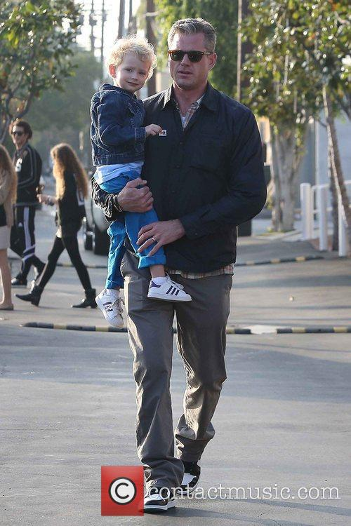 Eric Dane and Billie 12